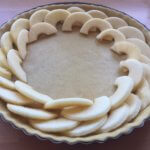 Apple tarte adding apple pieces