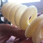 Apple tarte cut and peel apples