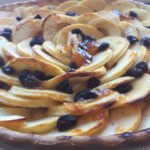 Apple tarte ready to serve